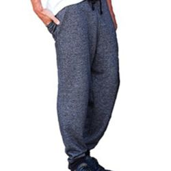 Denim Fleece Joggers Thumbnail