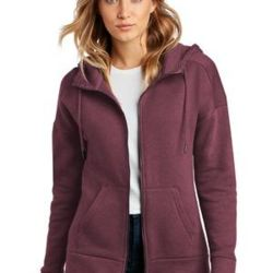 ® Women's Perfect Weight ® Fleece Drop Shoulder Full Zip Hoodie Thumbnail