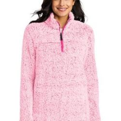 ® Ladies Cozy 1/4 Zip Fleece Thumbnail