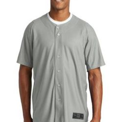 New Era Full Button Baseball Jersey Thumbnail